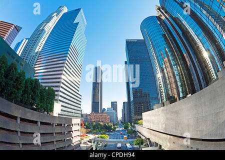 Downtown, Los Angeles, California, United States of America, North America - Stock Photo