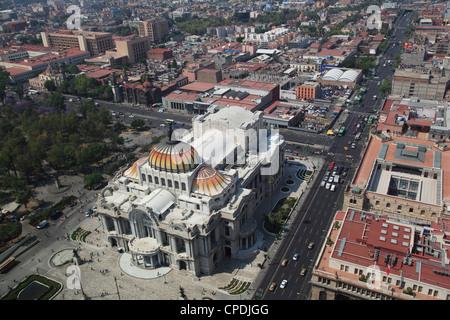 Palacio de Bellas Artes, Historic Center, Mexico City, Mexico, North America - Stock Photo