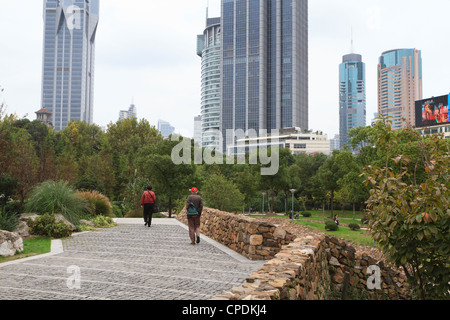 People's Square, Shanghai, China, Asia - Stock Photo