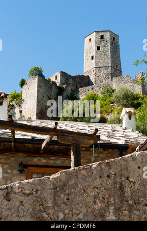 Pocitelj, Capljina municipality, Bosnia and Herzegovina, Europe - Stock Photo