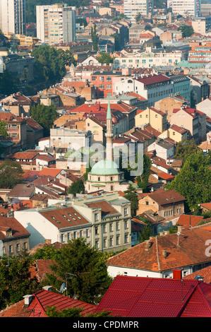 City of Sarajevo, Bosnia and Herzegovina, Europe - Stock Photo