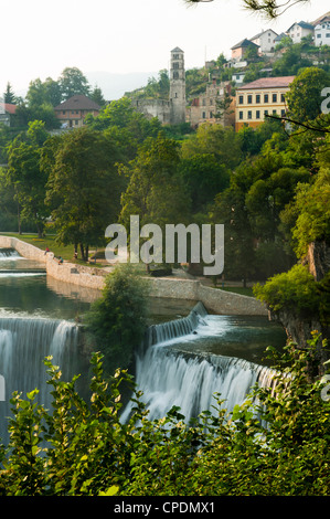 Jajce, Municipality of Jajce, Bosnia and Hezegovina, Europe - Stock Photo