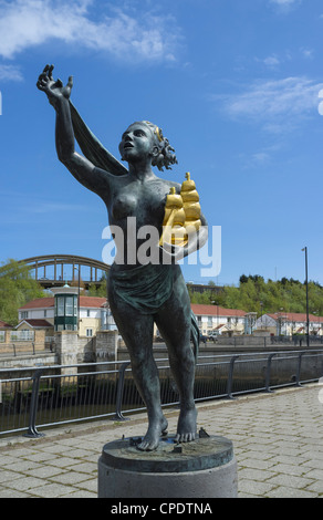 The Spirit of South Shields - Stock Photo