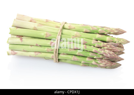 Asparagus bunch - Stock Photo