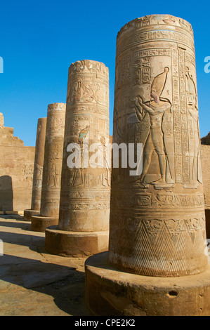 Temple of Sobek and Haroeris, Kom Ombo, Egypt, North Africa, Africa - Stock Photo