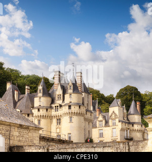 Chateau Usse, Rigny-Usse, Loire Valley, France. - Stock Photo