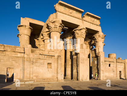 The twin Temple of Sobek and Haroeris, Kom Ombo, Egypt, North Africa, Africa - Stock Photo