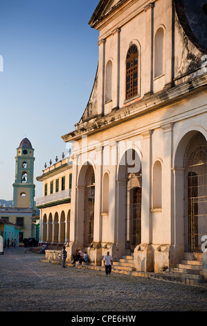 Iglesia Parroquial de la Santisima Trinidad, Trinidad, UNESCO World Heritage Site, Cuba, West Indies, Central America - Stock Photo