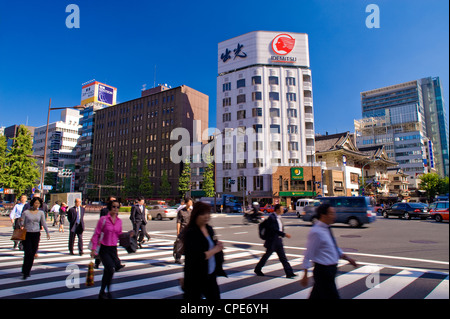 Harumi-Dori, Ginza, Tokyo, Japan, Asia - Stock Photo