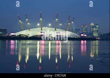 The O2 Arena, Docklands, London, England, United Kingdom, Europe - Stock Photo