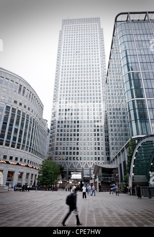 Canary Wharf, Docklands, London, England, United Kingdom, Europe - Stock Photo