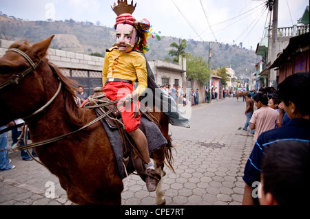 San Antonio Aguas Calientes, Guatemala, Central America - Stock Photo