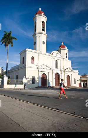 Catedral de la Purisima Concepcion, Cienfuegos, UNESCO World Heritage Site, Cuba, West Indies, Central America - Stock Photo