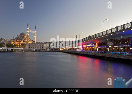 The New Mosque, Istanbul, Turkey, Europe, Eurasia - Stock Photo