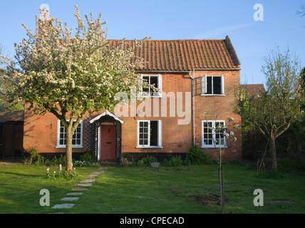 Property released ( photographer's home) detached village home, Shottisham, Suffolk, England - Stock Photo