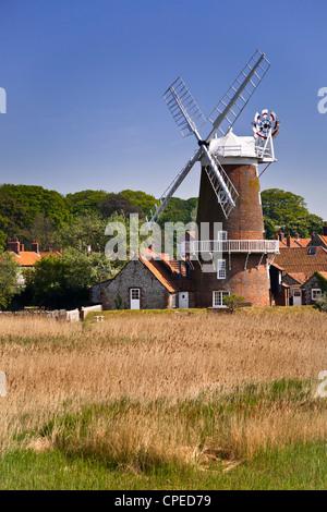 Cley Windmill, Norfolk - Stock Photo