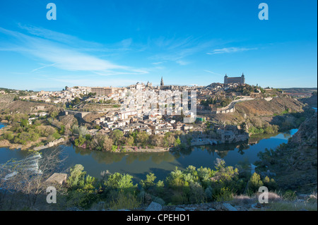 Panorama of Toledo, Spain - Stock Photo