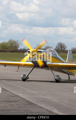 Avions Mundry CAP 232 GIIAI taxiing at Breighton Airfield - Stock Photo