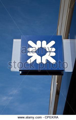 Royal Bank of Scotland logo - Stock Photo