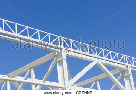 METAL STRUCTURES - Stock Photo