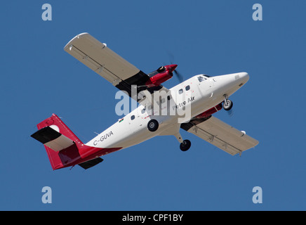 DHC-6 Series 400 Twin Otter utility aircraft on delivery to Petro Air of Libya - Stock Photo