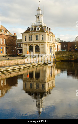 The 17th century Custom House King's Lynn Norfolk England - Stock Photo