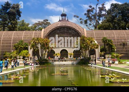 Botanical Building Gardens Balboa Park San Diego California Stock Photo Royalty Free Image