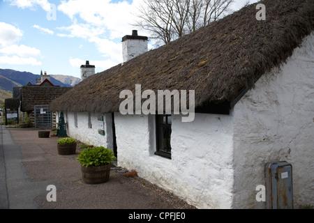 Glencoe and north lorn folk museum highlands scotland uk - Stock Photo