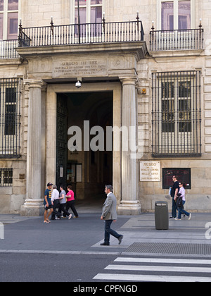 Real Academia de Bellas Artes (fine arts museum and gallery), Madrid, Spain, Europe - Stock Photo
