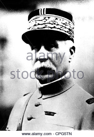 Petain, Henri Philippe, 24.4.1856 - 23.7.1953, French general and politician, commander in chief of the French army - Stock Photo