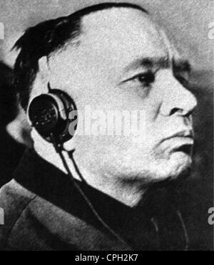 Hoess, Rudolf, 22.11.1900 - 16.4.1947, German SS officer, Commandant of Auschwitz-Birkenau May 1940 - November 1943, - Stock Photo