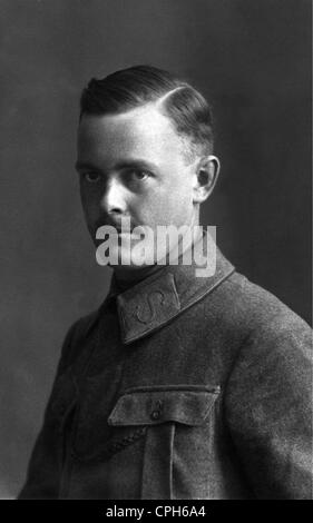 military, Germany, portrait of a soldier, early 20th century, soldiers, people, man, men, uniform, uniforms, moustache, - Stock Photo
