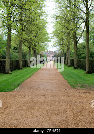 Entrance to St John's College, Cambridge, UK - Stock Photo