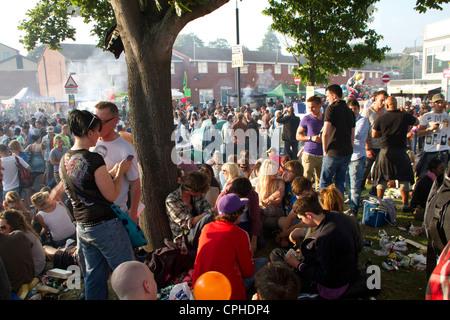 St Paul's Carnival in Bristol. - Stock Photo