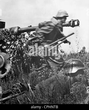 German Soldiers During Operation 'Zitadelle,' 1943 - Stock Photo