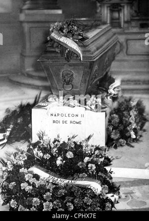 Coffin of the Duke of Reichstadt (Emperor of the French, Napoleon II) - Stock Photo