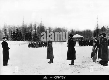 Swearing in of Norwegian volunteers in the Waffen SS, 1942 - Stock Photo