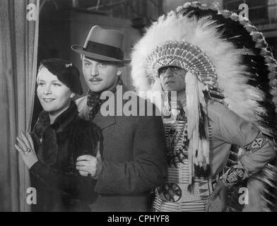 Renate Mueller and Adolf Wohlbrueck in 'Viktor und Viktoria ', 1933 - Stock Photo