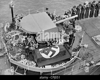 Transfer of Leopold von Hoesch, 1936 - Stock Photo