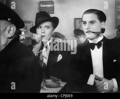 Renate Mueller and Adolf Wohlbrueck in 'Viktor and Viktoria', 1933 - Stock Photo