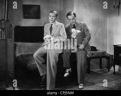 Renate Mueller und Hermann Thimig in 'Viktor und Viktoria' (Viktor and Viktoria), 1933 - Stock Photo