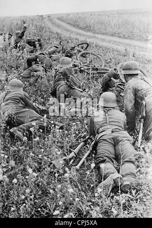 German soldiers on the Eastern front, 1942 - Stock Photo