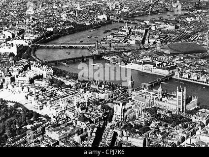 City view of London - Stock Photo