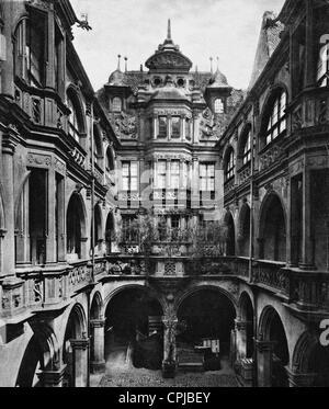 Peller House in Nuremberg - Stock Photo