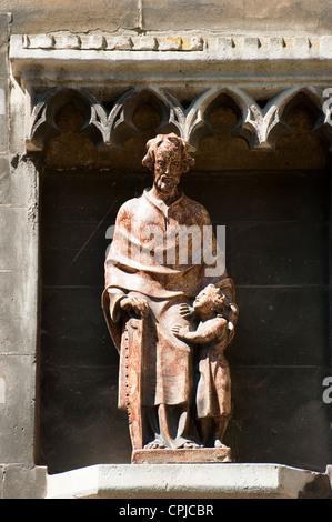 Ornament, Sint Matthias Kerk (Saint Matthew's church), Maastricht, Limburg, The Netherlands, Europe. - Stock Photo