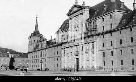 Monastery of El Escorial, 1929 - Stock Photo