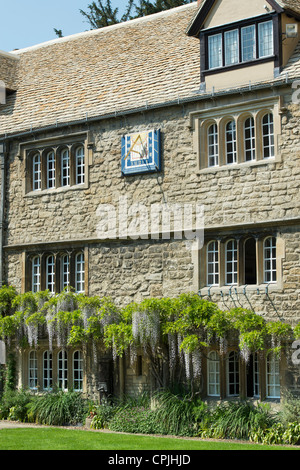 Jesus College Oxford University, Principals Lodgings. Oxfordshire, England - Stock Photo