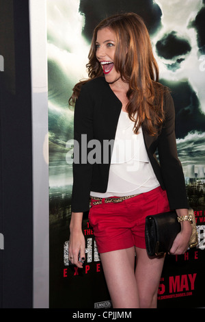 Devin Kelley arrives at the Special Fan Screening of Chernobyl Diaries at the Cinerama Dome in Hollywood. - Stock Photo