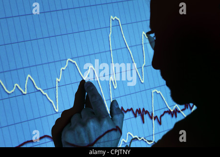 Finance presentation - Stock Photo