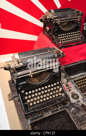 USA Maryland MD National Cryptologic Museum at Fort Meade - Anne Arundel County -  Japanese  machines - Stock Photo